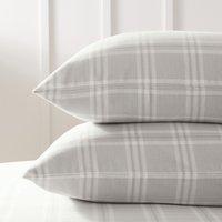 Kingston Classic Pillowcase, Soft Grey, Standard