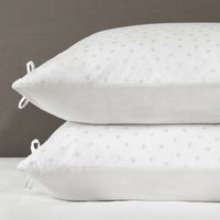 Laurent Classic Pillowcase - Set of 2, White Grey, Super King