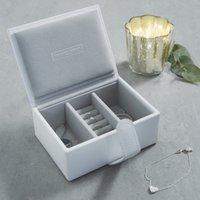 image-Leather Travel Jewellery Box