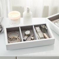 Lacquer Compartment Jewellery Tray
