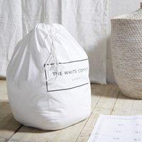 Laundry Basket Liner, White, One Size