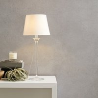 Lavenham Table Lamp, Clear, One Size