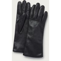 Leather Gloves , Black, S/M
