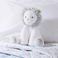 Lion Medium Toy, White, One Size