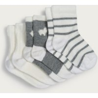 Llama Baby Socks – Set of 3, Grey, 0-6mths
