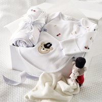 London Bear Baby Gift Set, Grey, 0-3mths