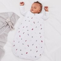 London Bear Sleeping Bag - 2.5 Tog, White, 18-36mths