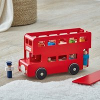London Toy Bus, Red, One Size