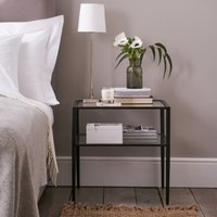 Ludlow Side Table, Black, One Size