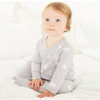Lumi & Friends Sleepsuit, Grey, Newborn