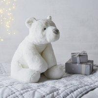 Lumi Polar Bear Large Toy, White, One Size