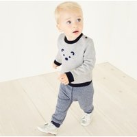 Lumi Sweatshirt & Jogger Set, Navy, 12-18mths