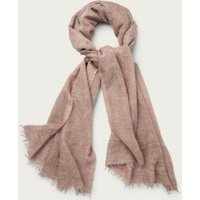Lurex Wide Long Scarf , Pink, One Size