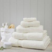 Luxury Egyptian Cotton Towel, Ivory, Hand Towel