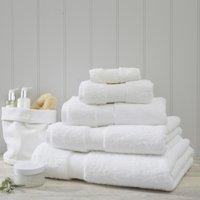 Luxury Egyptian Cotton Towel, White, Bath Towel