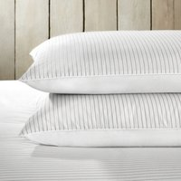 Markham Classic Pillowcase - Single, White Clay, Standard