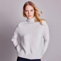 Wool Garter Stitch Jumper