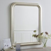Madison Wall Mirror, Champagne Silver, One Size