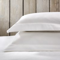 Markham Oxford Pillowcase, White Clay, Super King
