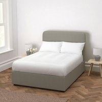 Melbury Cotton Bed, Grey Cotton, Double