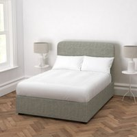 Melbury Tweed Bed, Tweed Mid Grey, Super King
