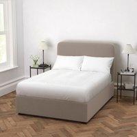 Melbury Velvet Bed, Stone Velvet, King