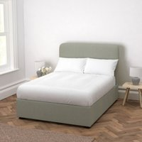 Melbury Wool Bed, Light Grey Wool, King