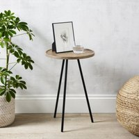 Milton Side Table, Natural, One Size
