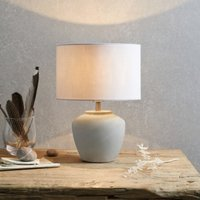 Mini Southwold Table Lamp, Stone, One Size