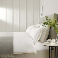 Mirador Duvet Cover, White Natural, King