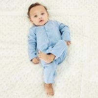 Moon & Star Sleepsuit, Blue, 3-6mths