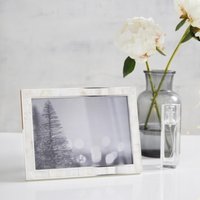"Mother of Pearl Photo Frame 5x7"", White, One Size"