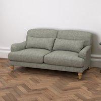 Natural Oak Leg, Tweed Mid Grey, One Size