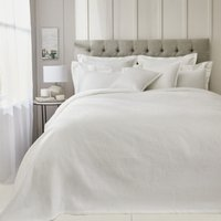 Nimes Bedspread, White, King