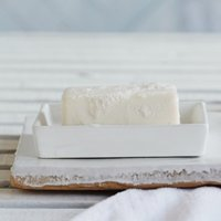 Newcombe Ceramic Soap Dish, White, One Size