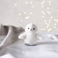Ollie Snow Owl Mini Toy, White, One Size