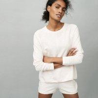 Organic Cotton Lounge Loopback Sweater, Pink, Extra Large