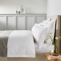 Padstow Duvet Cover, White, Super King
