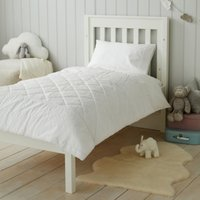 Perfect White Quilt, White, Cot Bed