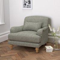 Petersham Tweed Armchair