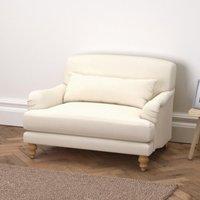 Petersham Cotton Love Seat