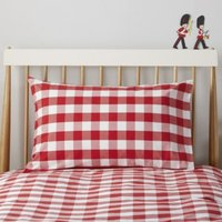 Postbox Classic Pillowcase , Post Box Red, Cot Bed