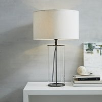 Pimlico Table Lamp, Black, One Size