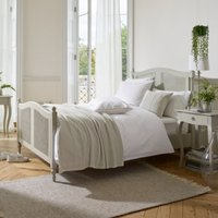 Provence Bed, Pale Grey, King