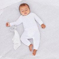 Star Print Sleepsuit
