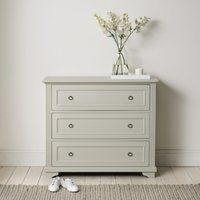 Provence Chest of Drawers, Pale Grey, One Size