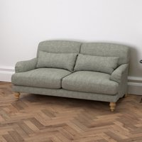 Petersham 2 Seater Sofa Tweed, Tweed Mid Grey, One Size