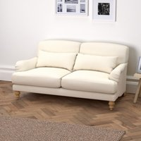 Petersham 3 Seater Sofa Cotton, Pearl Cotton, One Size