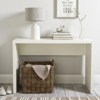 Pimlico Console Table, White, One Size