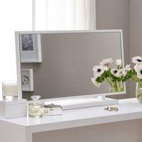 Pimlico Dressing Table Mirror, White, One Size